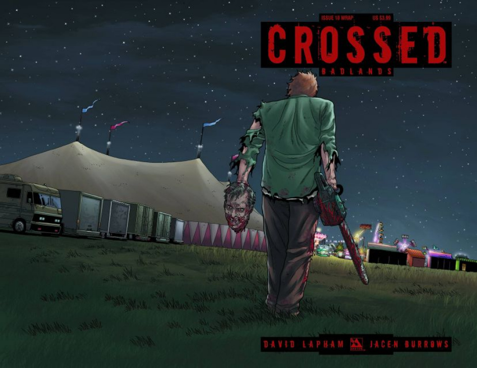 Crossed: Badlands #10 (Wrap Cover)