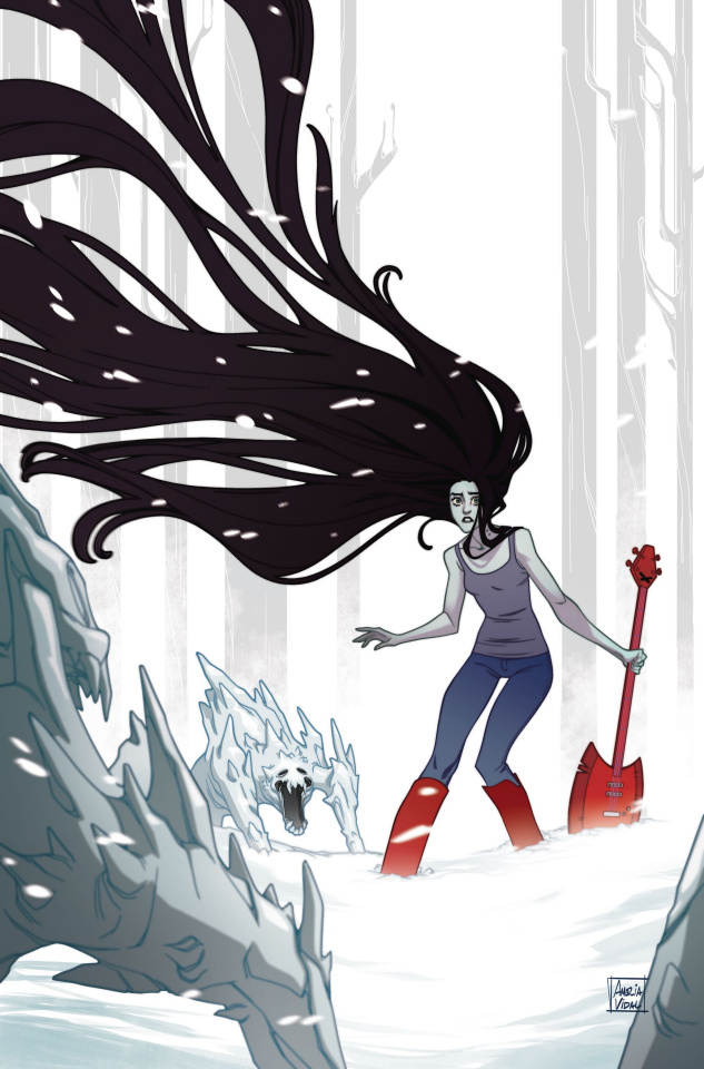 Adventure Time: Marcy & Simon #4 (Preorder Marcy Cover)
