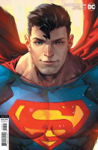 Superman #28 (Kael Ngu Card Stock Cover)