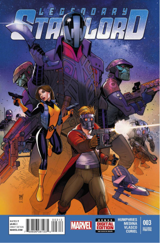 Legendary Star-Lord #3 (2nd Printing)