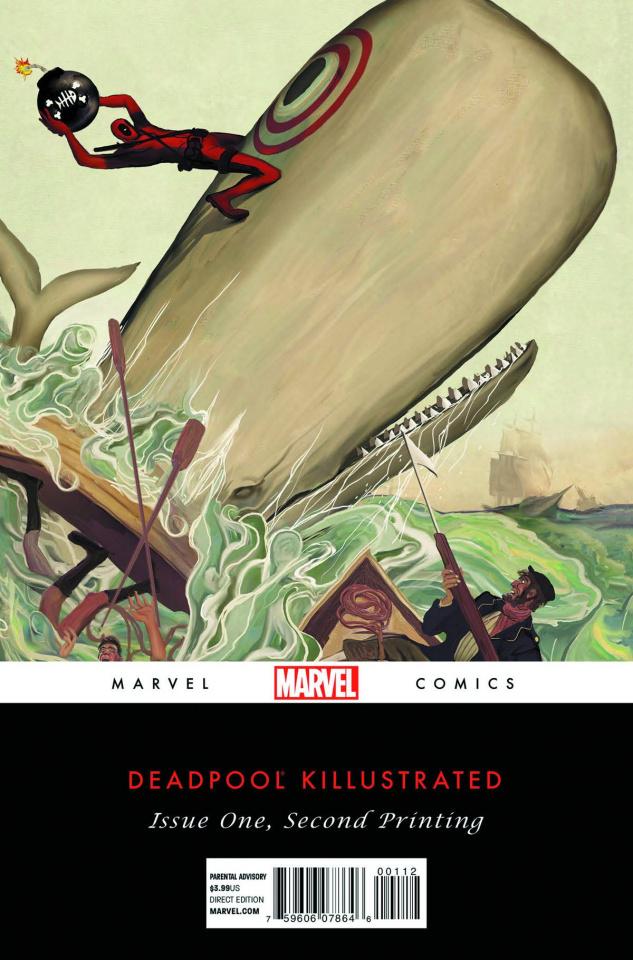 Deadpool Killustrated #1 (2nd Printing)