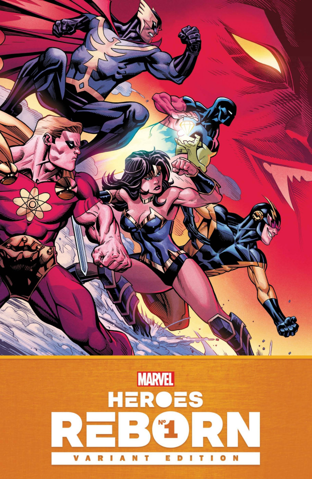 Heroes Reborn #1 (McGuinness Cover)