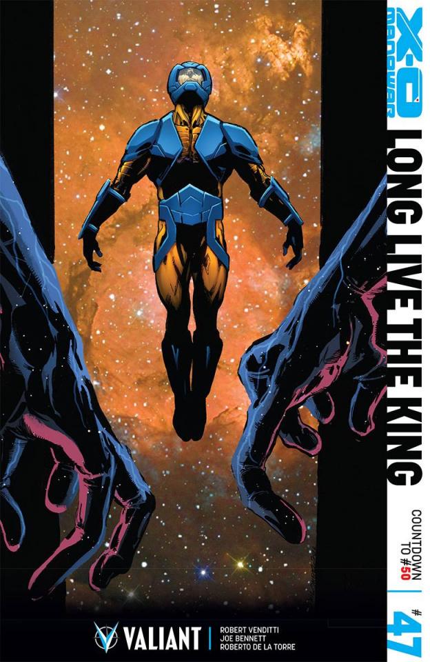 X-O Manowar #47 (Jimenez Cover)