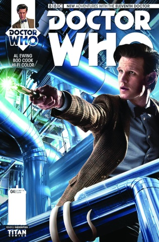 Doctor Who: New Adventures with the Eleventh Doctor #4 (Subscription Cover)