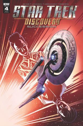 Star Trek: Discovery - Succession #4 (10 Copy Roche Cover)