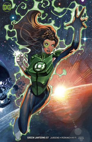 Green Lanterns #57 (Variant Cover)