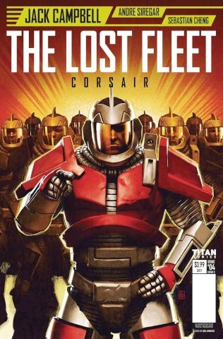 The Lost Fleet: Corsair #4 (Roberts Cover)