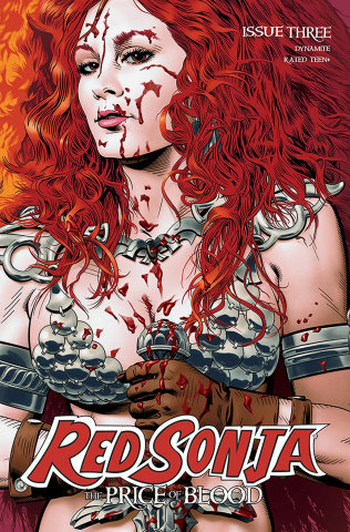 Red Sonja: The Price of Blood #3 (CGC Graded Golden Cover)