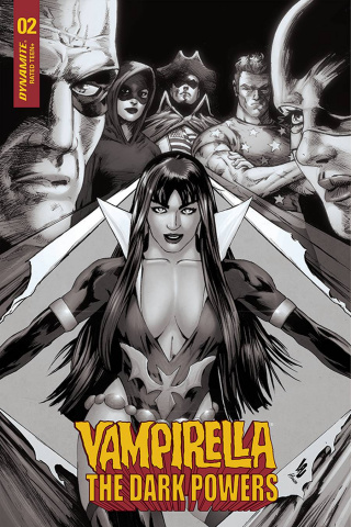 Vampirella: The Dark Powers #2 (15 Copy Lau B&W Cover)