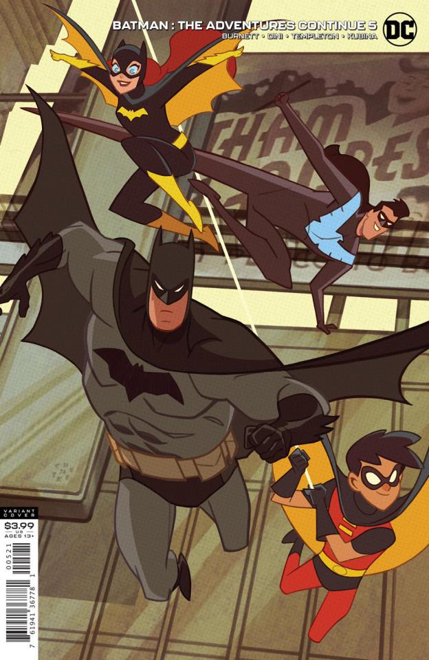 Batman: The Adventures Continue #5 (Sean Cheeks Galloway Cover)