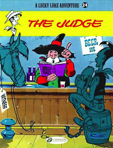 A Lucky Luke Adventure Vol. 24: The Judge