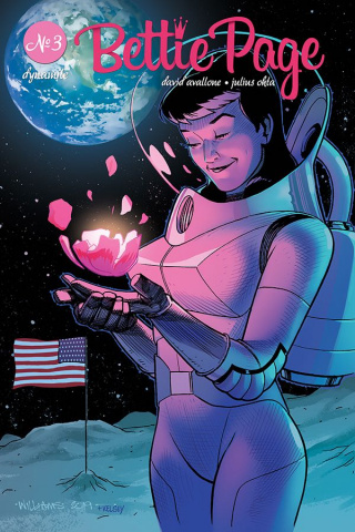 Bettie Page: Unbound #3 (Williams Cover)