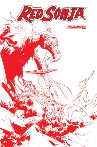 Red Sonja #25 (21 Copy Lee Tint Cover)