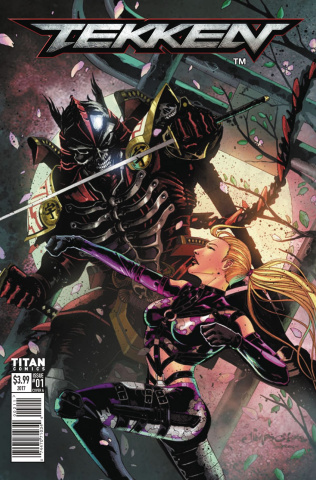 Tekken #1 (Salgado Cover)