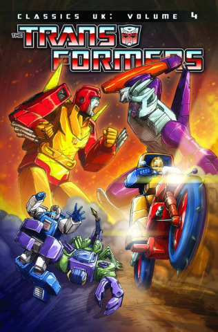 The Transformers: Classics UK Vol. 4
