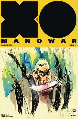 X-O Manowar #16 (Mahfood Cover)