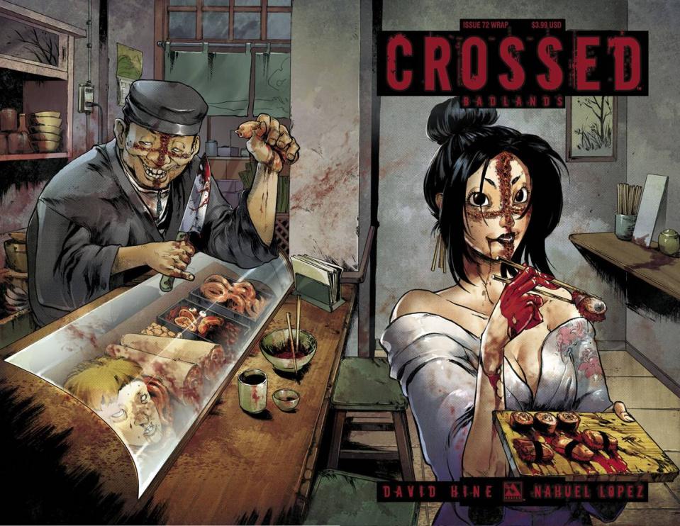 Crossed: Badlands #72 (Wrap Cover)