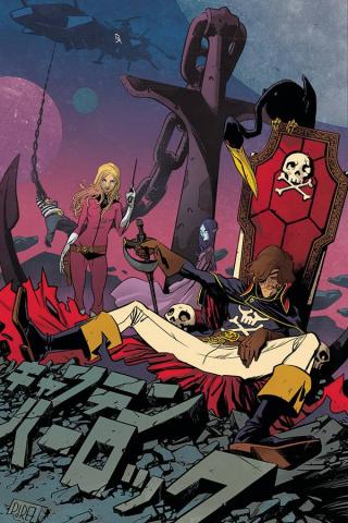 Space Pirate: Captain Harlock #4 (10 Copy Perez Virgin Cover)