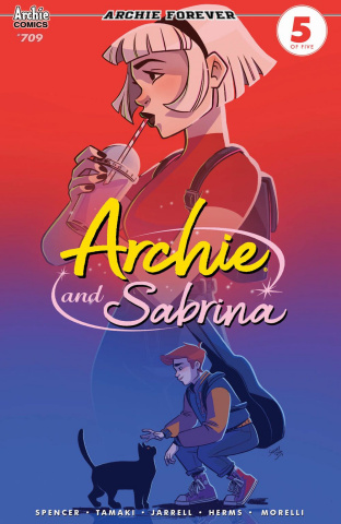 Archie #709 (Archie & Sabrina Boo Cover)