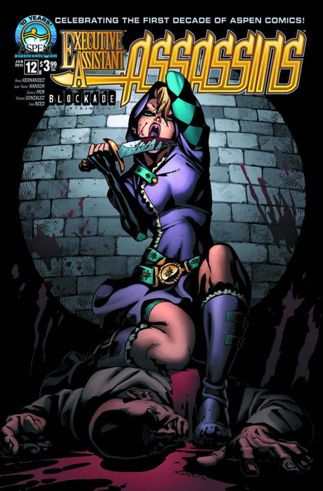 Executive Assistant: Assassins #12 (Cucca Cover)