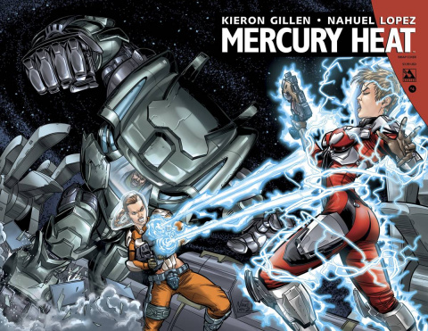 Mercury Heat #4 (Wrap Cover)