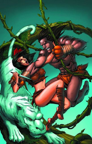 Grimm Fairy Tales: The Jungle Book #5 (Granda Cover)