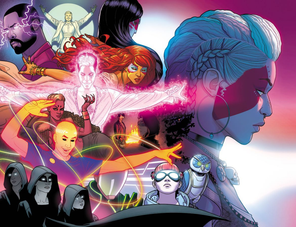 The Wicked + The Divine #34 (Virgin Wraparound Cover)