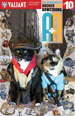A&A #10 (Cat Cosplay Cover)