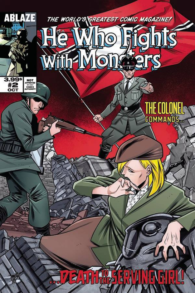 He Who Fights With Monsters #2 (Moy R. Cover)