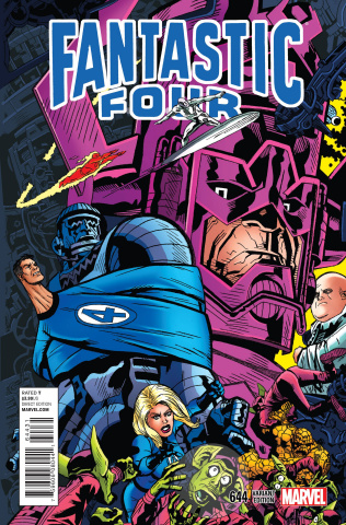 Fantastic Four #644 (Connecting Cover)