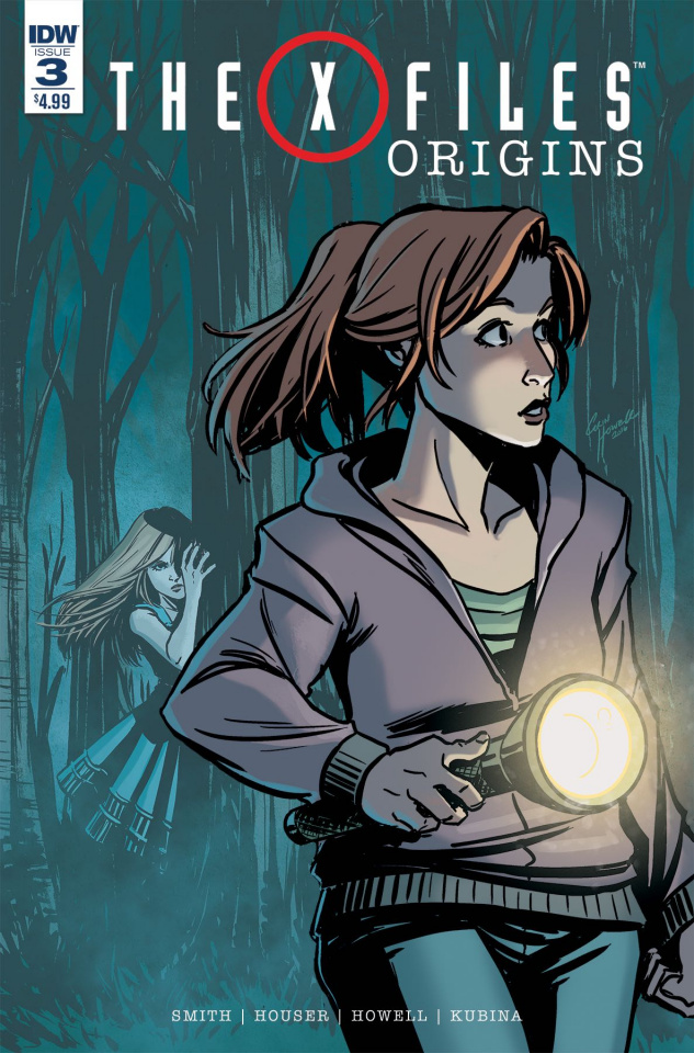 The X-Files: Origins #3 (Subscription Cover)