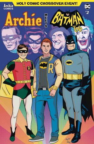 Archie Meets Batman '66 #2 (Torres & Fitzpatrick Cover)