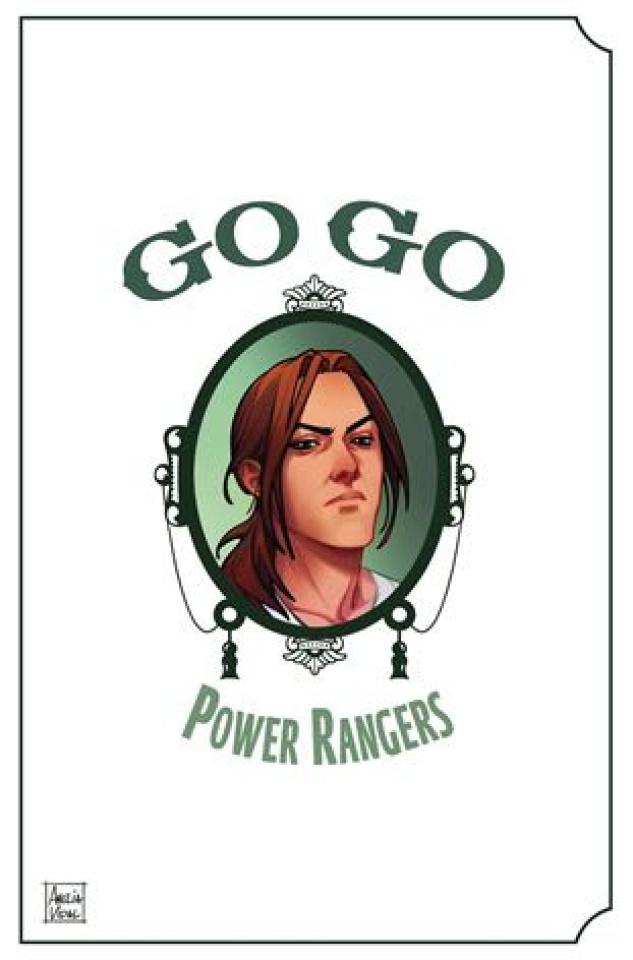 Go, Go, Power Rangers! #27 (Preorder Mercado Cover)