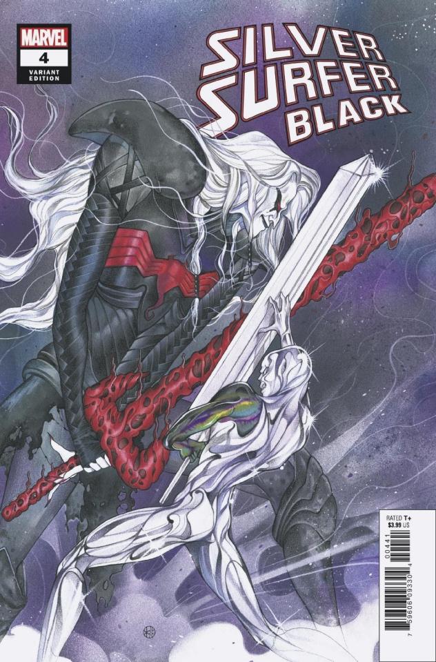 Silver Surfer: Black #4 (Momoko Cover)