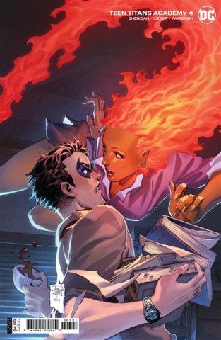 Teen Titans Academy #4 (Philip Tan Card Stock Cover)