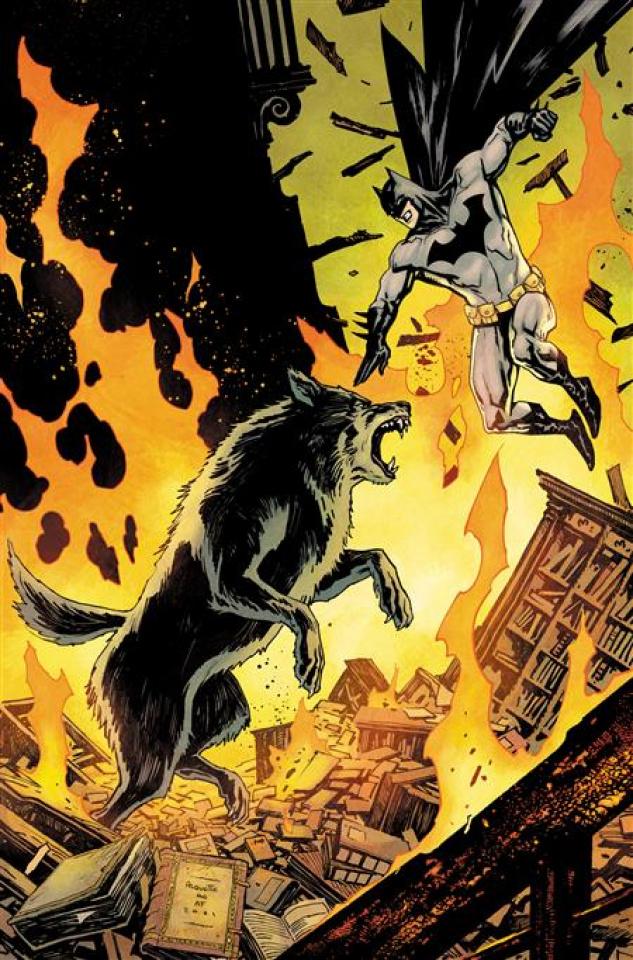 Batman vs. Bigby! A Wolf In Gotham #3 (Yanick Paquette Cover)
