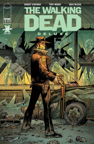The Walking Dead Deluxe #1 (Moore & McCaig Cover)
