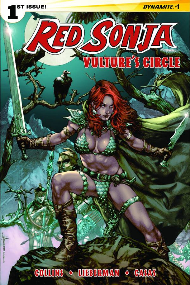 Red Sonja: Vulture's Circle #1 (Anacleto Cover)
