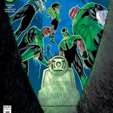 Green Lantern #2 (Bernard Chang Cover)