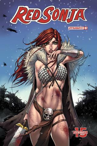 Red Sonja #7 (Turner Cover)
