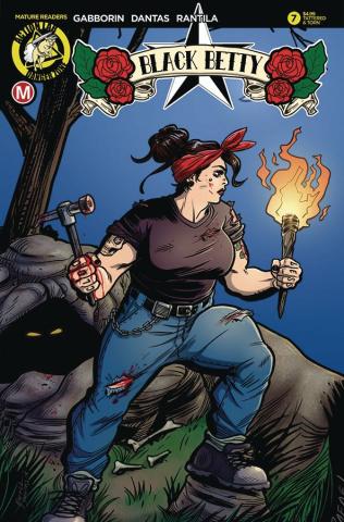 Black Betty #7 (Dantas Tattered & Torn Cover)