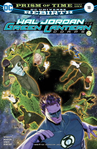 Hal Jordan and The Green Lantern Corps #18