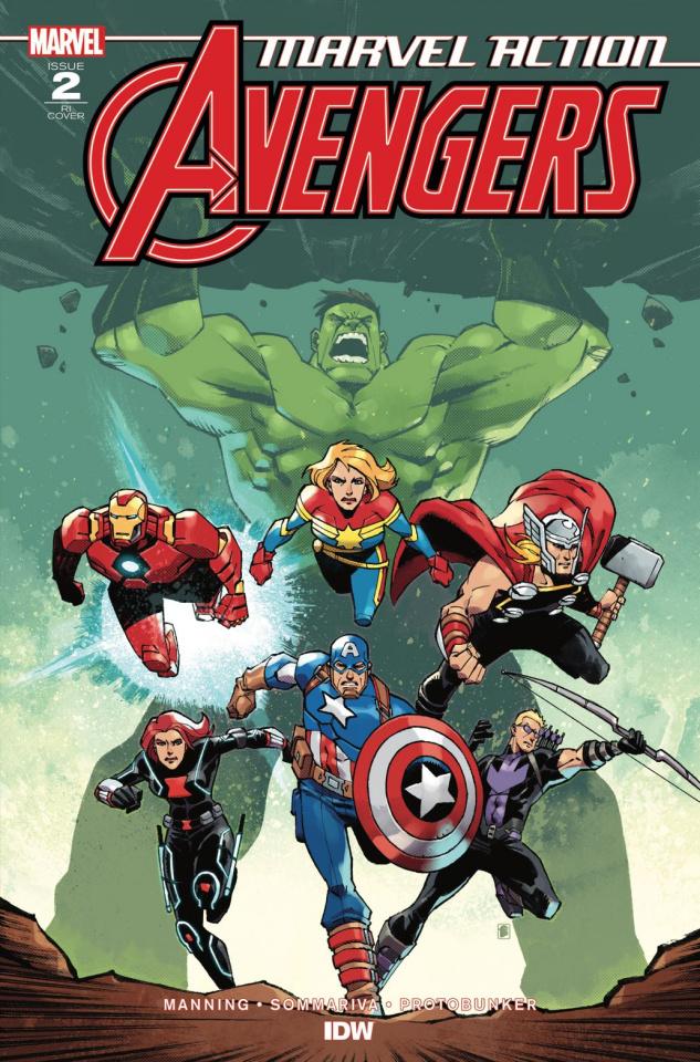 Marvel Action: Avengers #2 (10 Copy Daniel Cover)