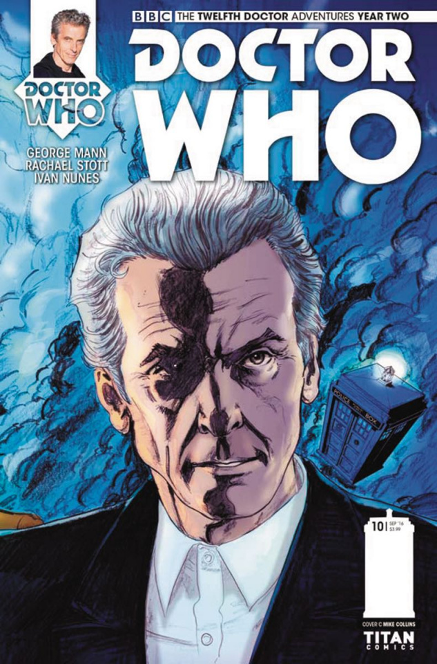 Doctor Who: New Adventures with the Twelfth Doctor, Year Two #10 (Collins Connecting Cover)