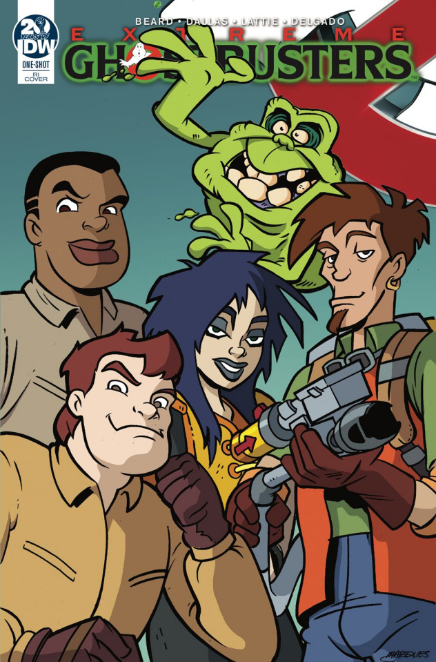 Ghostbusters 35th Anniversary (Extreme Ghostbusters 10 Copy Cover)