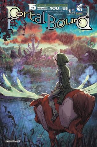 Portal Bound #3 (Archer Cover)