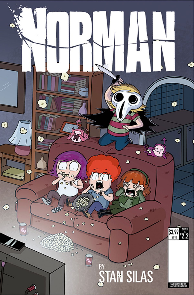 Norman: The First Slash #2 (Ellerby Cover)