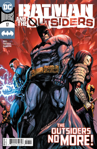 Batman and the Outsiders #17 (Tyler Kirkham Cover)
