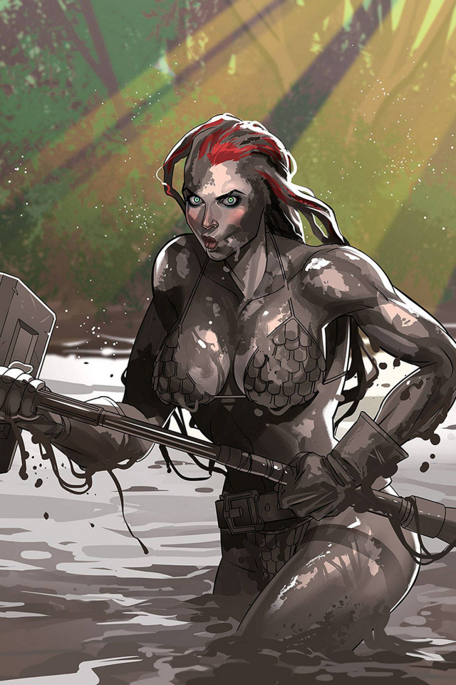Red Sonja #21 (30 Copy Stott Virgin Cover)