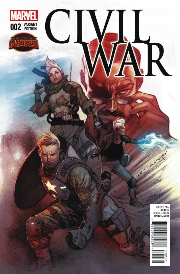 Civil War #2 (Coipel Cover)
